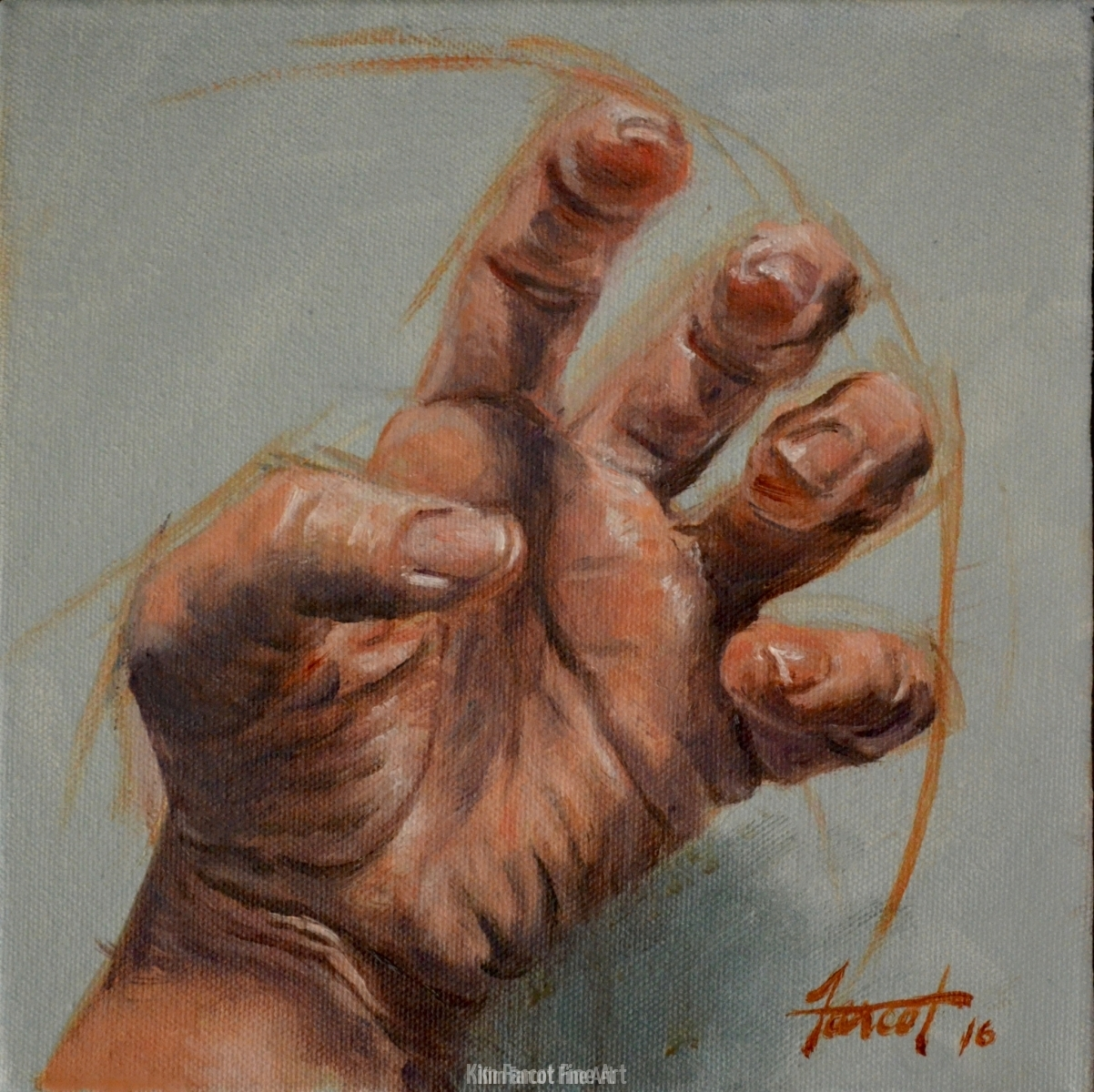 Anger, private collection, Saudi Arabia