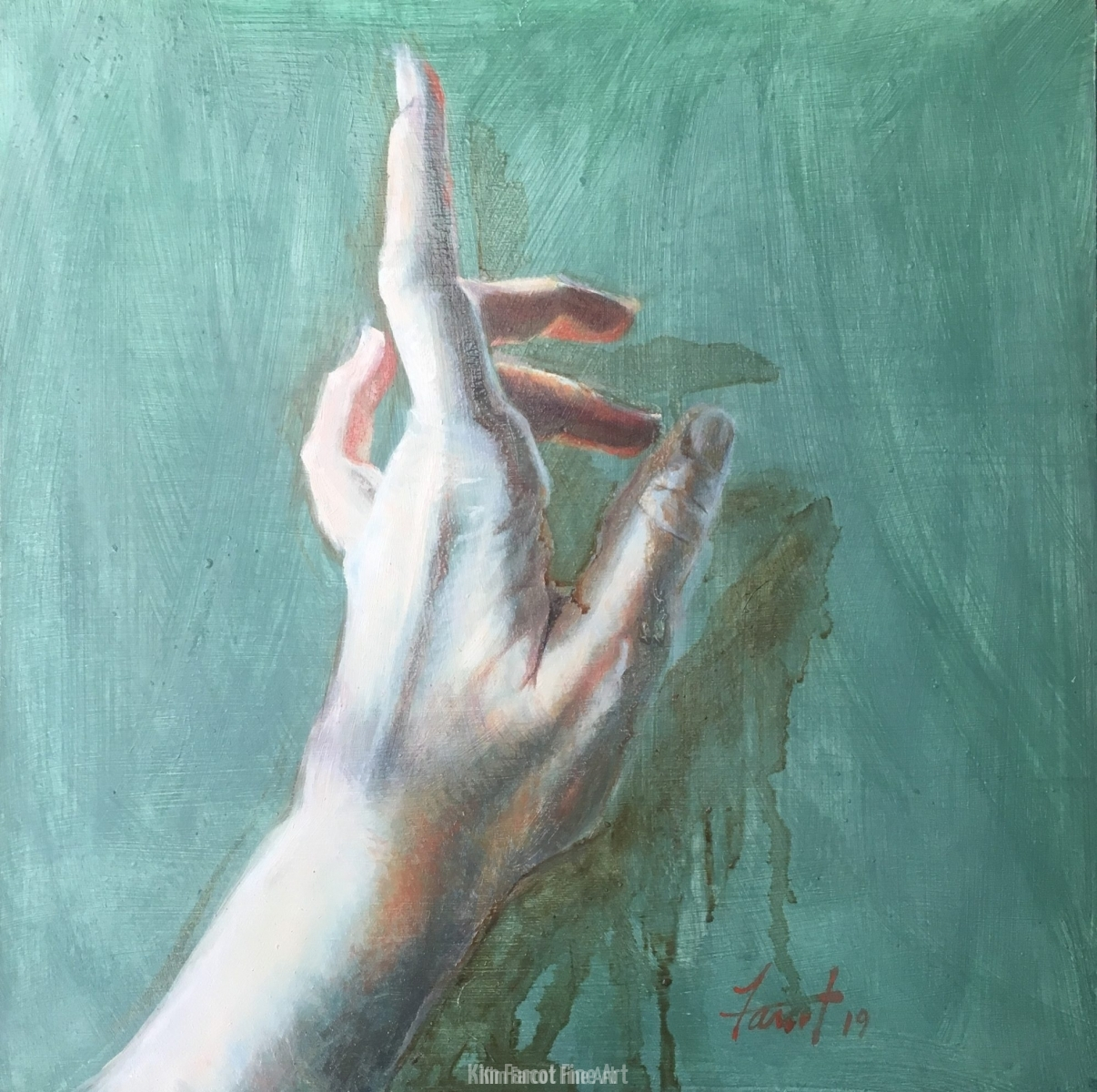 Gesture, oil, available