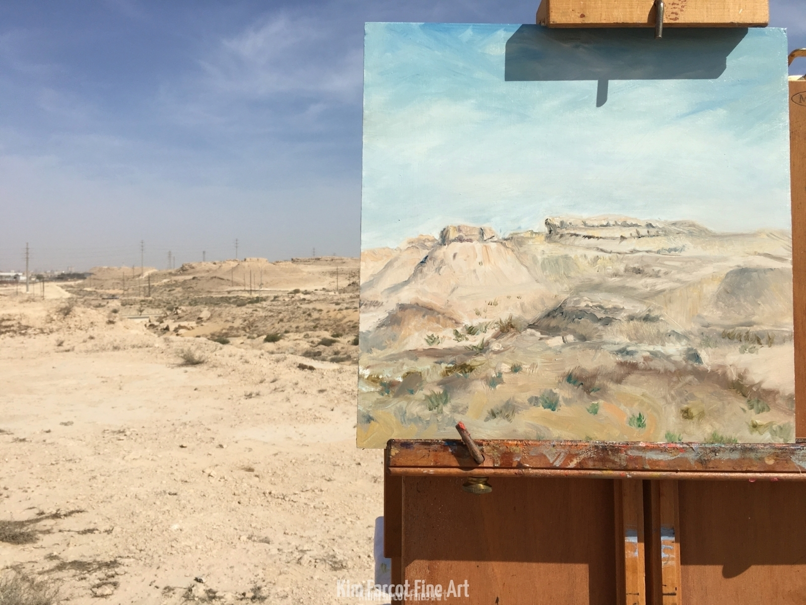 Plein Air 2, private collection, Saudi Arabia