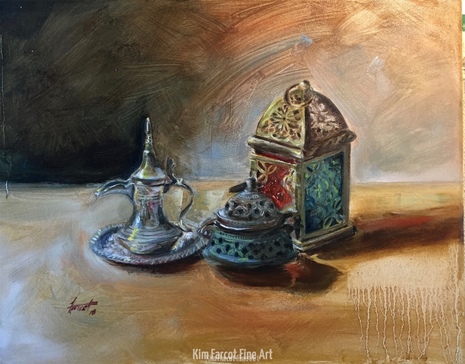 Saudi Still Life, private collection, Australia