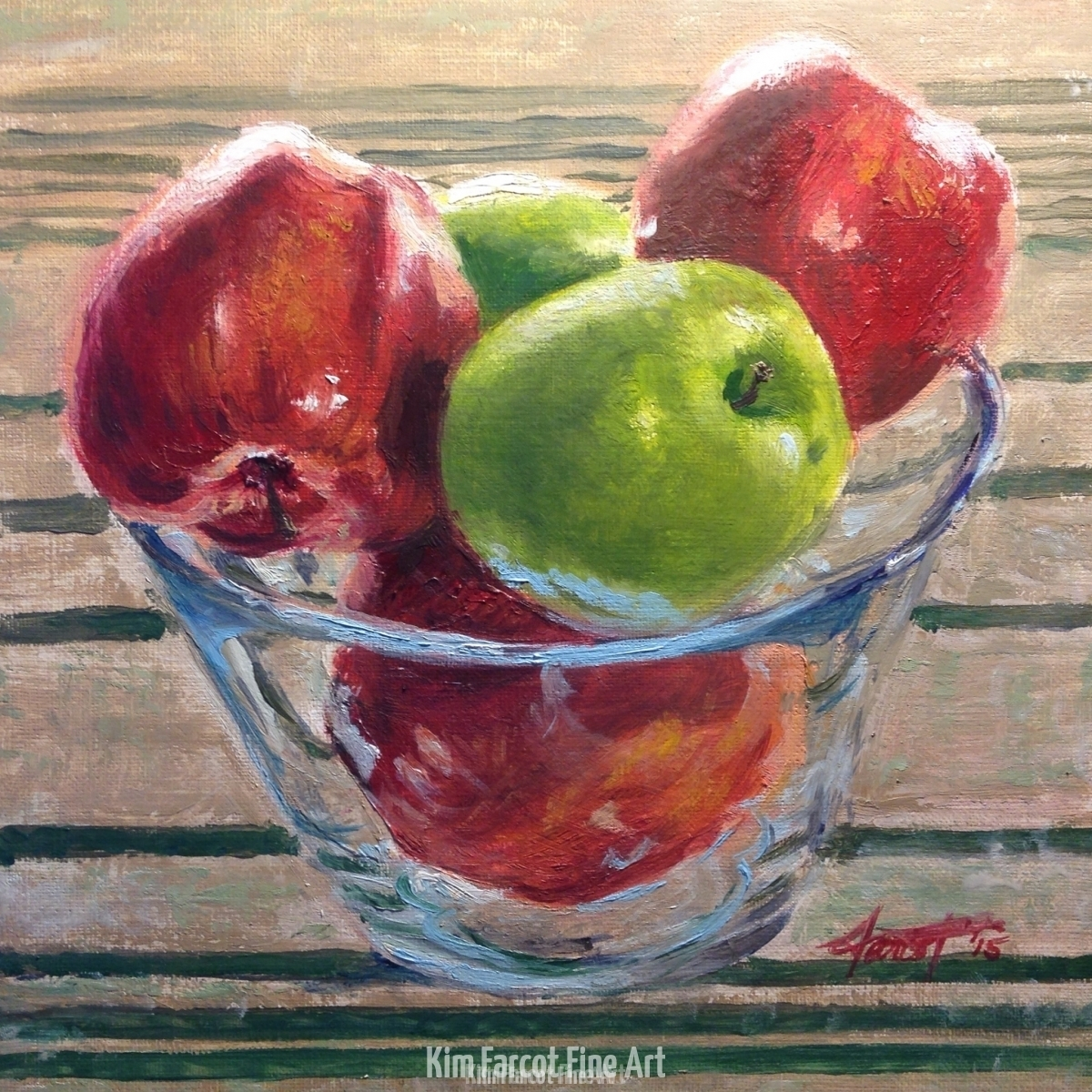 Apples, private collection Colorado