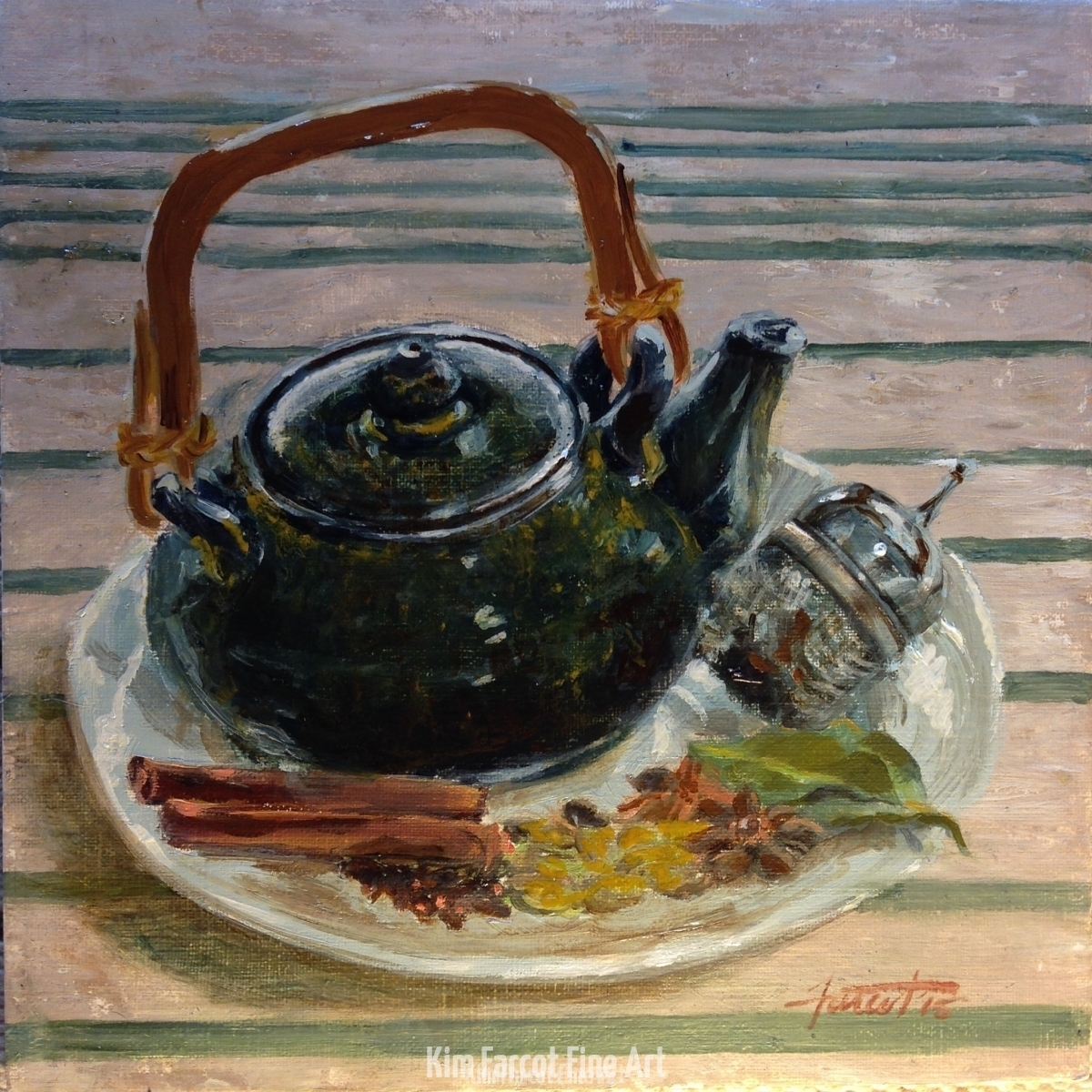 Chai Still Life, private collection, Fairfax, VA