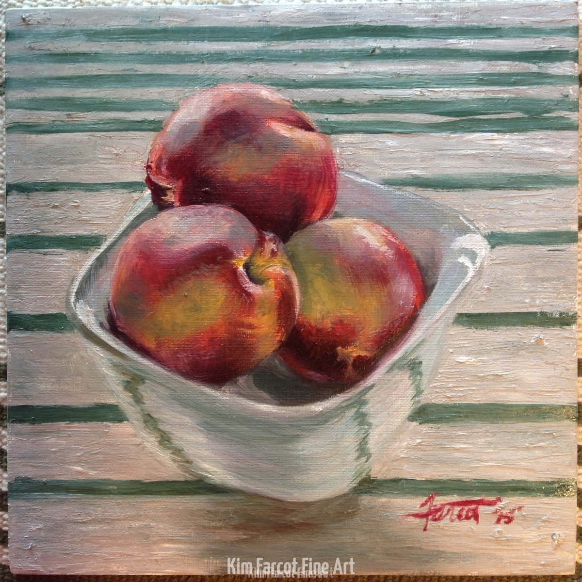 Peaches, private collection, Saudi Arabia