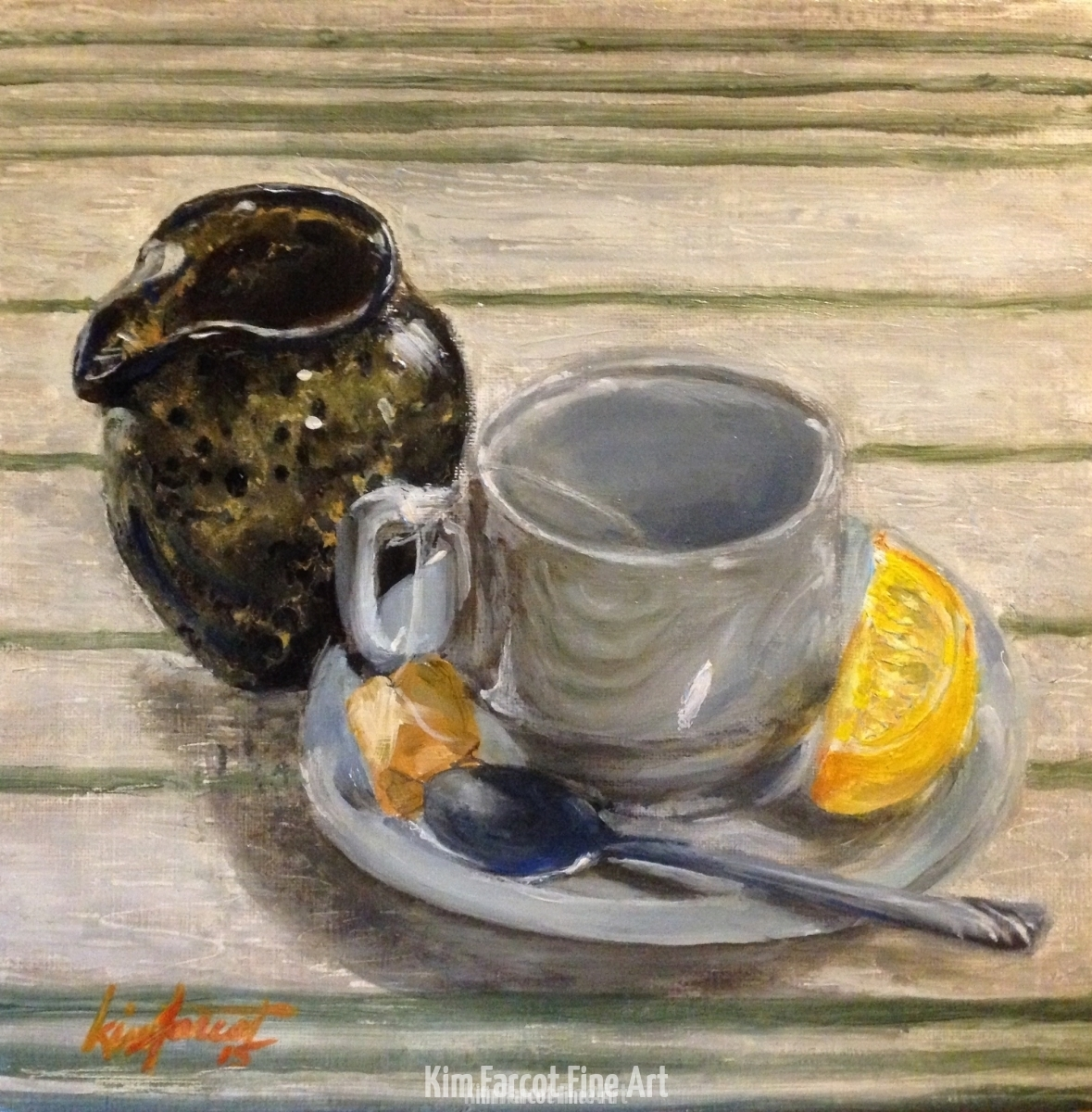 Tea Still Life, private collection, Fairfax, VA