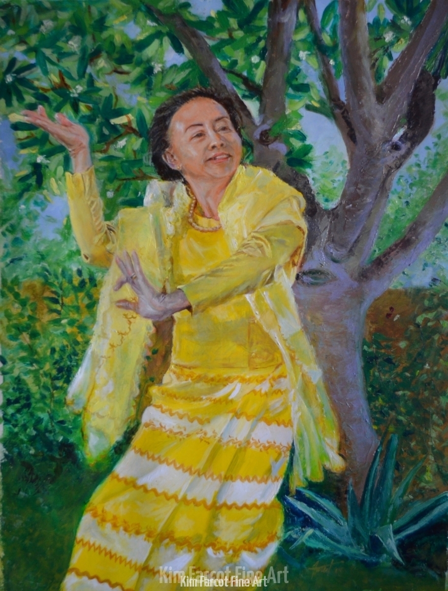 Lotus Dance, private collection, Colorado