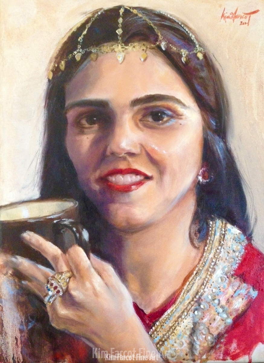 Amna, private collection, Bhahran