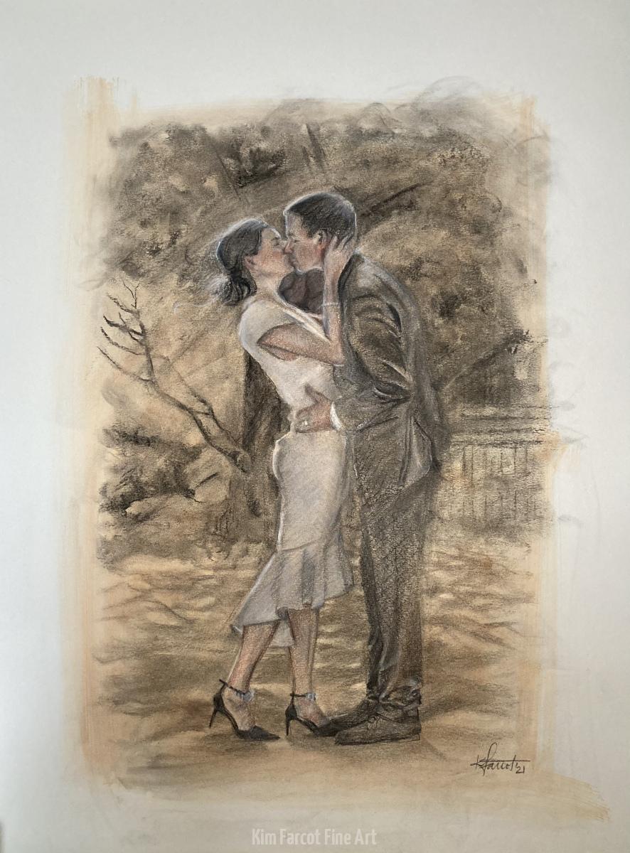 Jenae and Josh, private collection, Norfolk, VA