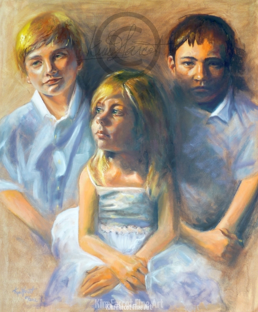 Luc, Madi & Max, private collection