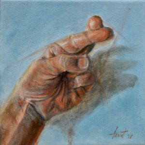 Fingers Crossed, private collection, Saudi Arabia