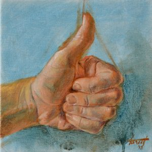 Thumbs Up, private collection, Saudi Arabia