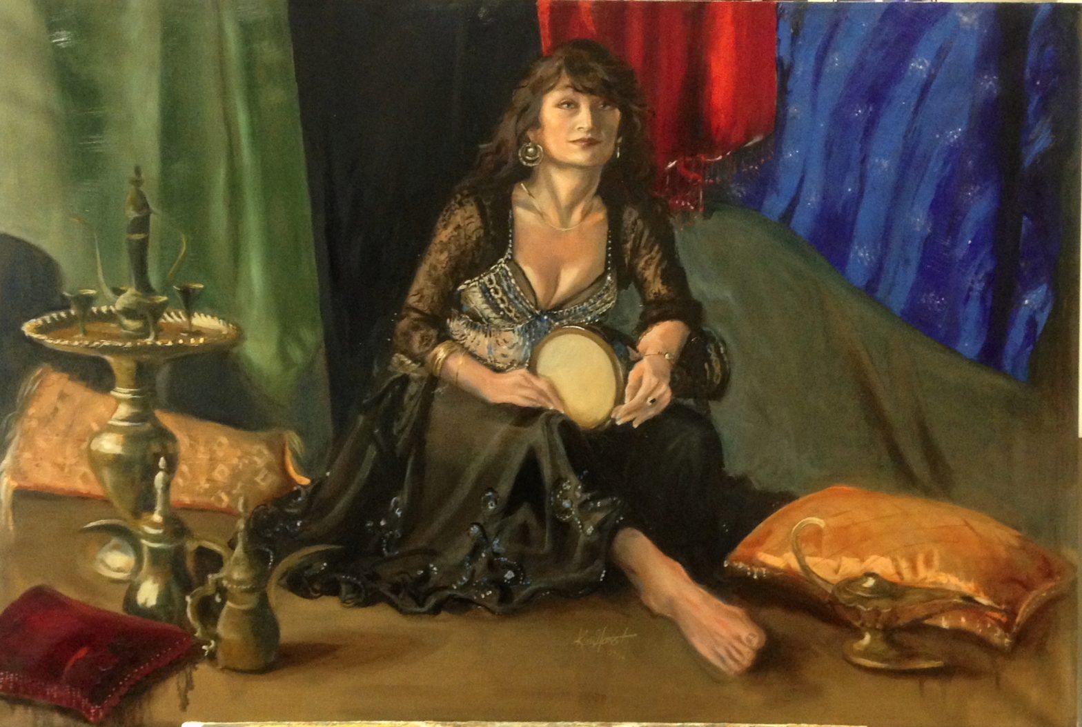 Carmen, private collection, Saudi Arabia