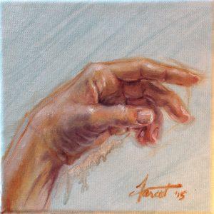 Left Hand, private collection, Saudi Arabia